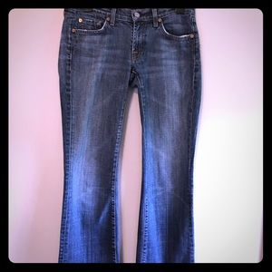 7 for All Mankind Jeans Size 27 Bootcut cut 703439